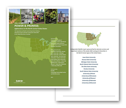 North Central United States Agbioscience Report