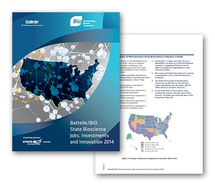 National Bioscience Jobs, Investments, and Innovation 2014