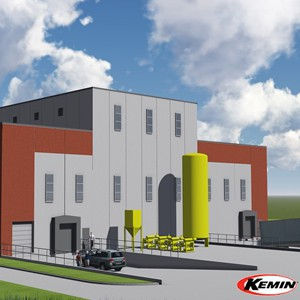 Kemin new manufacturing facility rendering