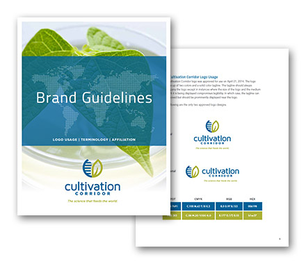Cultivation Corridor Brand Guidelines