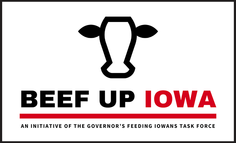Beef Up Iowa logo