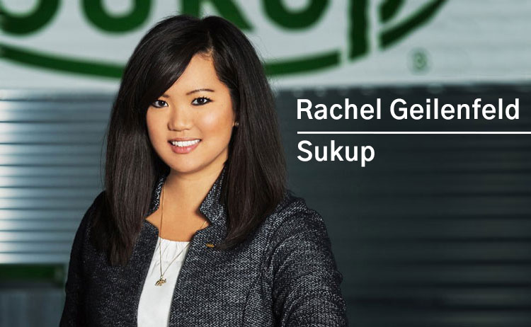 Rachel Geilenfeld - External Relations Manager for Sukup Manufacturing Co.